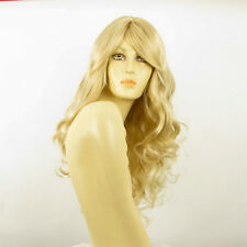 length wig women curly golden blond wick very light blond: angie 24BT613 PERUK