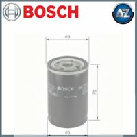 GENUINE BOSCH CAR OIL FILTER P7001/1 F026407001