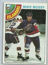 1978/79 Topps Hockey Mike Bossy Rookie Card # 115 Near Mint Condition