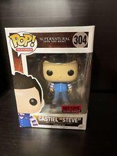 Funko POP Supernatural Castiel Steve Hot Topic Exclusive 304 Minor Box Damage