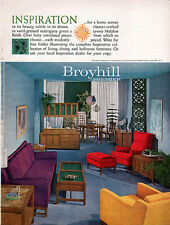 Broyhill Premier Furniture INSPIRATION Bedroom DINING ROOM Chairs 1959 Print Ad