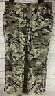 New Under Armour UA Forest Camo Loose Fit Hunting Pants 1347443-940 Men's Sz 38
