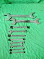 LOT of 10 Vintage Stahlwille Motor Open & Box End Tools Wrenches MM FREE SHIP
