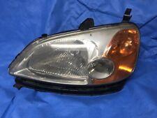Headlight For 2001 2002 2003 Honda Civic LX DX EX GX 2003 Hybrid Sedan Left
