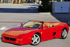 1995 Ferrari 355 F355 Spider! Manual! Red/Tan