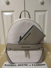 Michael Kors Kenly Medium Backpack - White