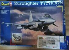 Eurofighter TYPHOON & Engine + Fotoätzteile in 1:32 von Revell
