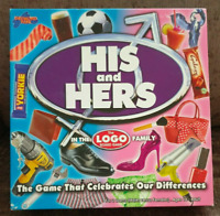 His and Hers In the Logo Board Game Family Complete Logo 16+ Drumond Park