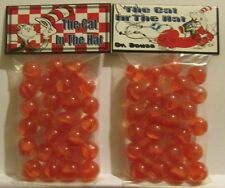 2 Bags Of Dr Seuss Cat In The Hat Promo Marbles