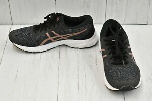 ASICS GEL-Kumo Lyte 1012A748 Running Shoes, Women's Size 9.5W, Black/Rose Gold