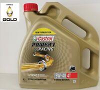 4T 5W 40 Castrol Power 1 Racing  4 Liter Motorradöl 5W-40