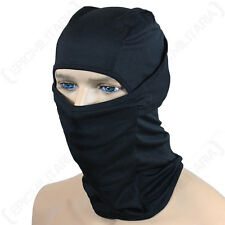 Black Balaclava - Lightweight Breathable Tactical Military Army Skiing Face New