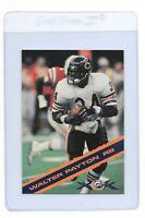 WALTER PAYTON 1995 Montgomery Ward Chicago BEARS Football Super Bowl XX CARD #6