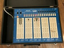 Vintage Electronic Solderless Circuit Tester Breadboard in Case