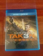 Taken 3 Blu Ray unrated With Digital copy code.