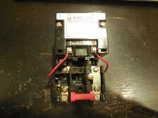 Square D 8536SCO1S Motor Starter 2-Pole Sz1 120V Coil Ser A