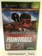 GREG HASTINGS TOURNAMENT PAINTBALL (XBOX) NUOVO SIGILLATO NEW - PAL VERSION
