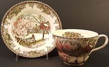 Johnson Bros-Friendly Village-Oversized Teacups/Saucers-Made in England