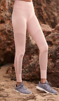 NEW Free People Movement Sculpt Mesh Leggings in Pink, Made in Italy $140.40