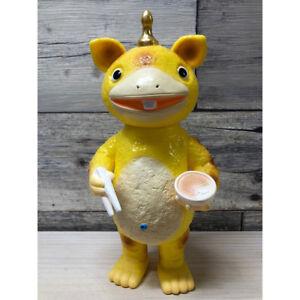 Bullmark Kaijyu Booska Ramen Booska Yellow Soft Vinyl Body Figure from Japan