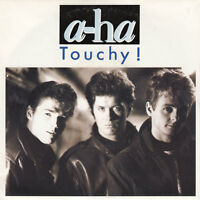 "a-ha ‎7"" Touchy! - France (VG+/EX+)"