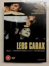 """HARD TO FIND 3 Movie Set """"LEOS CARAX"""" DVD French Film Maker"""
