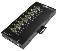 StarTech.com 8-Port Industrial USB to RS-232/422/485 Serial Adaptor with 15 kV