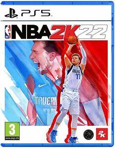 NBA 2K22 (PS5) Brand New & Sealed Free UK P&P