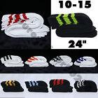 One Pair Cotton 3 Stripe Knee High Tube Socks Old School 24