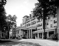 "1905-1915 Hotel Aspinwall, Lenox, MA Vintage Photograph 8.5"" x 11"" Reprint"