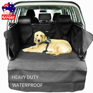 Dog Car Boot Cover SUV Liner Rear Trunk Cargo Hammock Waterproof Double Layers