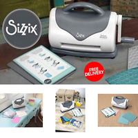 Sizzix Texture Boutique Embossing Machine With 2 Embossing Pads And 1 Shim 2019