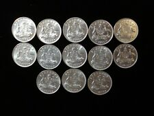 Australia Sixpence Silver Coins Luster Better Grade Bulk Wholesale #PK1