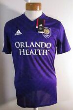NWT Adidas Orlando City SC Mens 2019 Replica Home Soccer Jersey M Purple MSRP$85