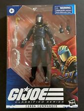 HASBRO GI-JOE 6-INCH CLASSIFIED WAVE 2 COBRA COMMANDER IN-STOCK #06?