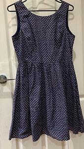 Womens Princess Highway Dress Size 14 100% Cotton