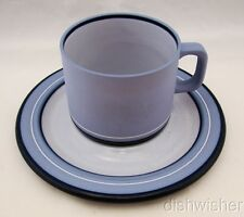 Arita Oven to Table Genesis Blue (5244) Cup & Saucer Set(s) Excellent