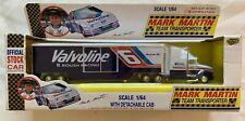 1992 Road Champs 1/64 Mark Martin #6 Team Transporter Valvoline Roush Racing