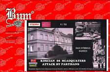 BUM Models 1/72 PARTISAN ATTACK ON SS HEADQUARTERS IN KOSCIAN Figure Set