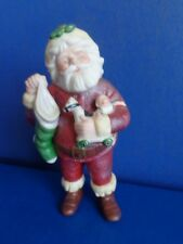 "1996 Hallmark 6"" Porcelain Santa Ornament- Hand Painted"
