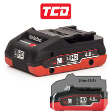 Metabo 625367000 4Ah 18V LiHD Compact Battery - NEW 2018 Battery