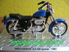 MOTO  1/24 HARLEY DAVIDSON XLH 1000 SPORTSTER 1985