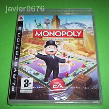 Monopoly incluye tableros edicion clasica y Mundial para la Sony PS3 buen estado
