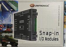 V200-18-E62B UNITRONICS SNAP-IN I/O MODULE