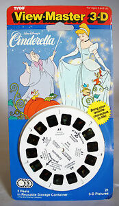VERY RARE VINTAGE 1993 VIEW MASTER CINDERELLA TYCO 3D VIEWER NEW SEALED !