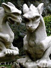 Steinfigur Skulptur Drache Dragon Gargoyle Torwächter B-Ware Gartenfigur NEU