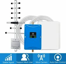 LTE 3G 4G 850/1700MHz Band 4/5 Cell Signal Booster Repeater Kit for Data Voice