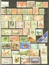 Jamaica Lot of 64 Stamps Cancelled #6953