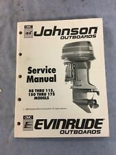 Johnson Outboards Service Manual 1989