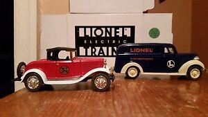 Eastwood Automobilia-Lionel Plant Maintenance Van/Fire Dept Car Diecast,1:43,NIB